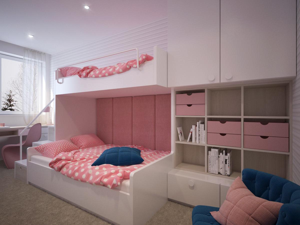 9c51a9e5e0787 Interiérový dizajn LUAL STUDIO - Vizualizácie - Návrhy detských izieb