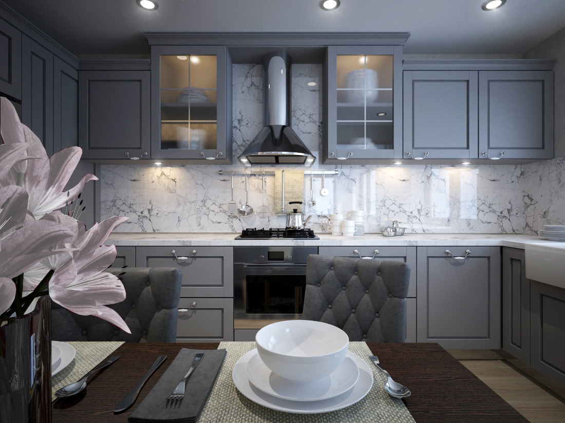 163fa06dd782 provensálska kuchyňa návrh interiéru. rustikálne kuchyne návrh